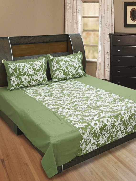 ... Printed Bedsheet Set (Pack Of 3) Tn1. Explore This Look Hover Over  Image To Zoom