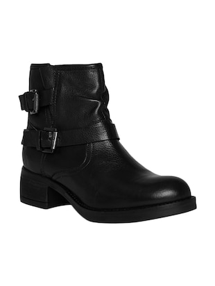 black ankle boot -  online shopping for boots