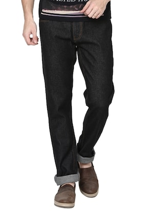 Newport Slim Fit Men Black Jeans -  online shopping for Jeans