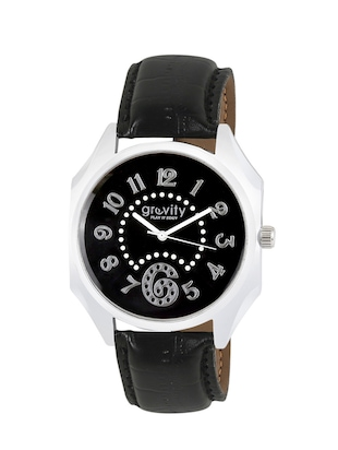 Gravity Exotic Black Casual Men's Analog Watch - 81