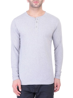 grey cotton tshirt
