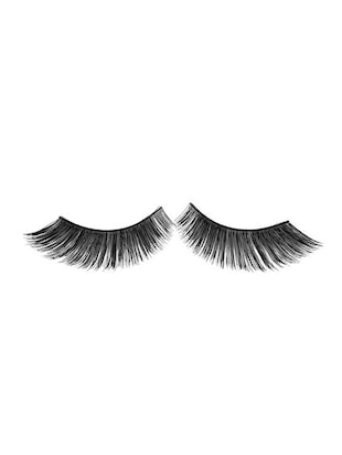GlamGals Stylish Black Soft Thick Reusable False Eye Lashes For Women - 12892095 - Standard Image - 2