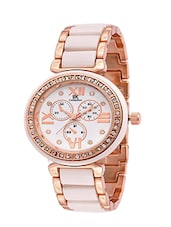 IIK collection white dial women watch -  online shopping for Wrist watches