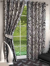 Shubh Collection Of All Over Traditional Print DOOR Curtain- Set Of 2 - By