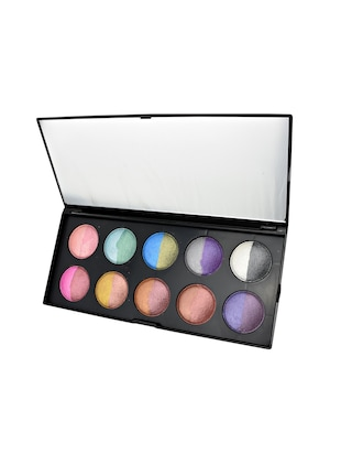 GlamGals 20 color baked Eyeshadow,Multicolor - 12901537 - Standard Image - 2