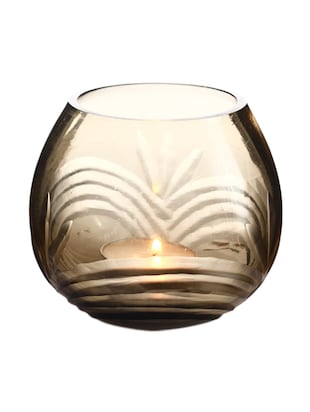 Anasa Glass votive tealight candle holder