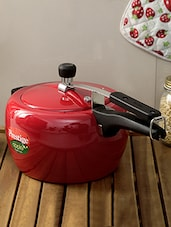 Red Stainless Steel Apple Cooker-5 Ltr - By