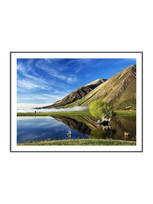 Wallskart  Beautifull Lake Medium size Vinyl Poster