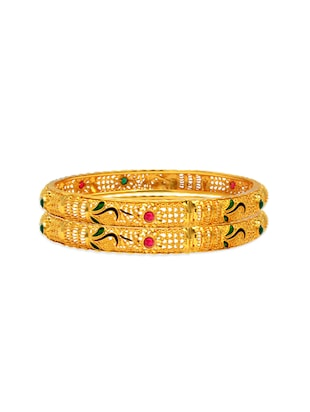 multi metal bangle