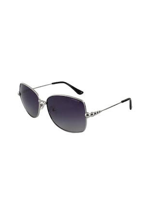 Silver and purple unisex sunglasses - 13025514 - Standard Image - 2