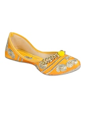 yellow slip on jutis -  online shopping for Jutis & Mojaris