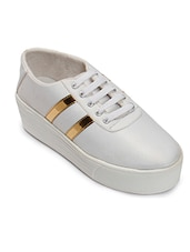 white tpr plimsolls sneakers -  online shopping for Sneakers