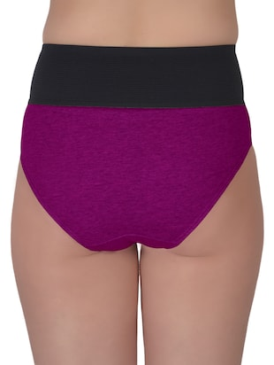 set of 5 multicolored cotton panties - 13081662 - Standard Image - 8