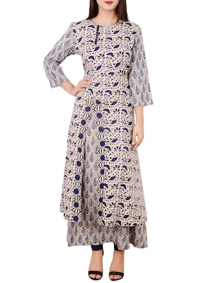 Floor length kurtis for Floor length kurti