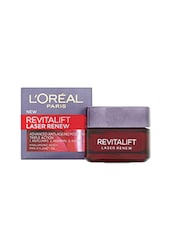 L'Oreal Paris Dermo Expertise Revitalift Laser Renew Advanced Anti-Aging Moisturiser - Triple Action (50 Ml) - By