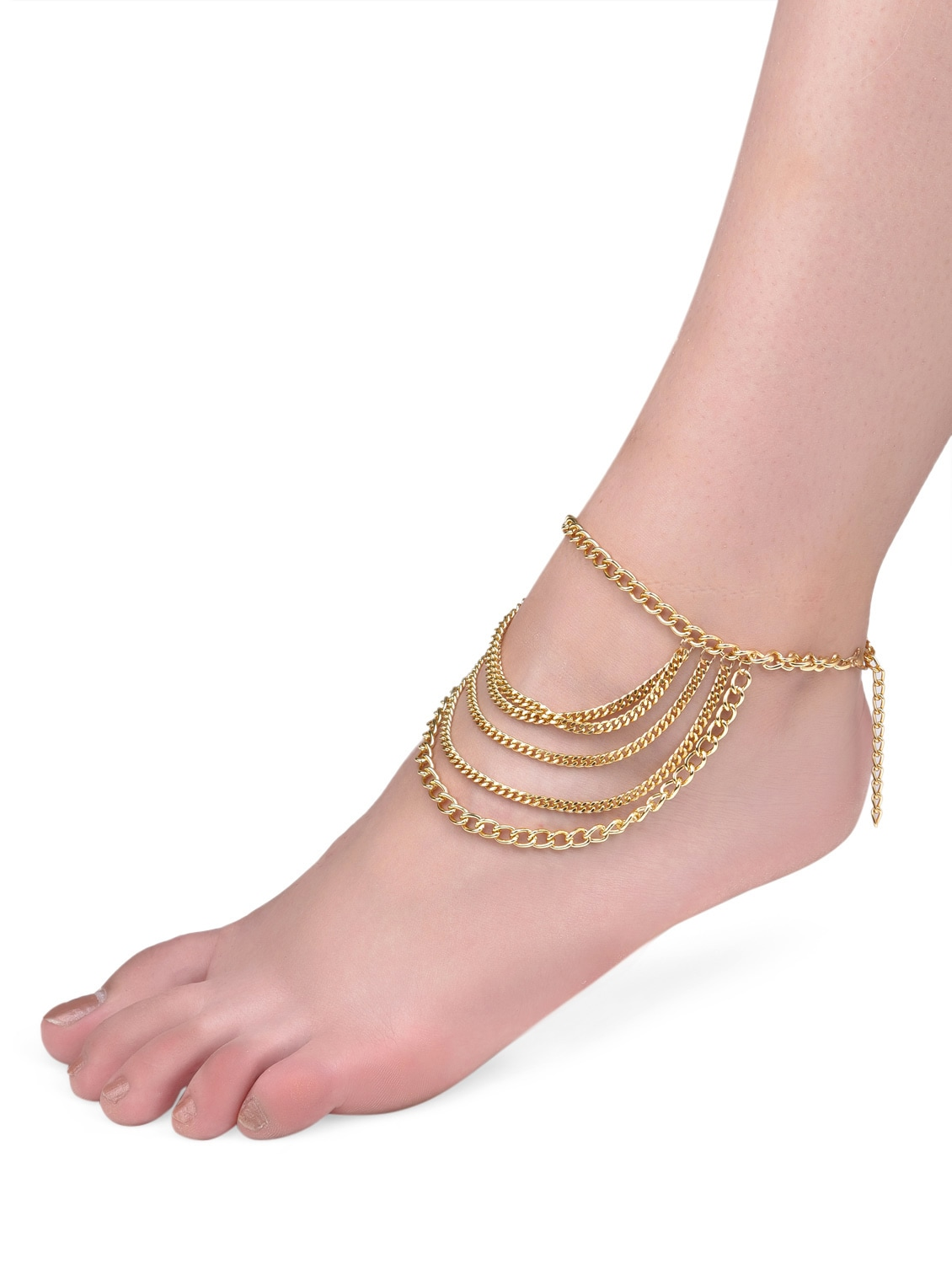 bracelet accessories color anklet from leg wholesale chain jewelry online foot anklets women fashion item for gold plated in bridal