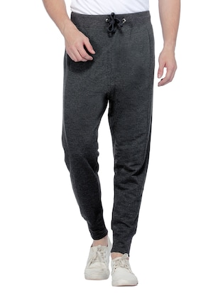 grey cotton jogger -  online shopping for Joggers