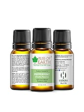Bliss Of Earth Premium PEPPERMINT (Mentha Piperetta) Essential Oil 10ML, 100% Pure & Natural Therapeutic Grade - By