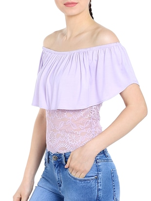 light purple viscose top - 13269654 - Standard Image - 2
