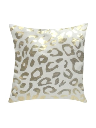 Ambbi Collection Printed Cushion Cover with foil print animal texture