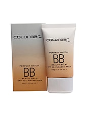 Colorbar Perfect Match BB Cream - Vanilla Creme (29 G) - By