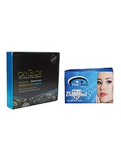 OXYGLOW DIAMOND FACIAL KIT 260 GM WITH PINK ROOT DIAMOND BLEACH 250 GM - By