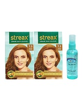 STREAX HAIR COLOR GOLDEN BLONDE WITH PINK ROOT HAIR SERUM - By