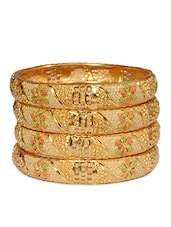 multi brass bangle -  online shopping for Bangles