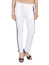 white hosery track pants -  online shopping for Track pants