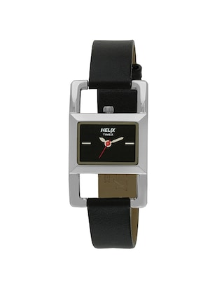 Helix Analog Black Dial Women's Watch - TW030HL01