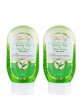 Globus Green Tea & Tea Tree Face Wash(Pack Of 2) - By
