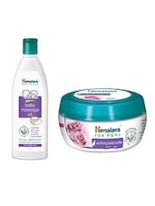 Himalaya Baby Massage Oil And Himalaya Body Butter Cream For MoMs - By - 13672714