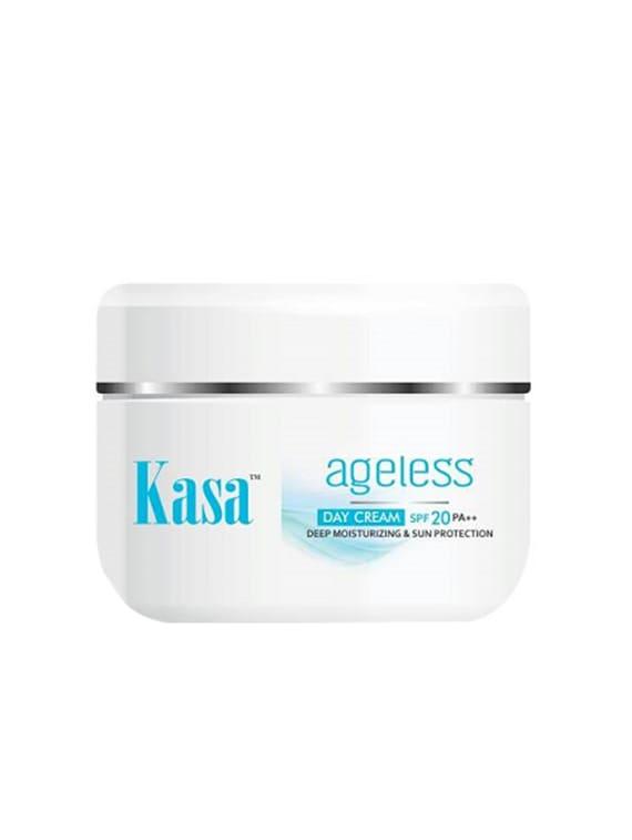 Kasa Ageless Deep Moisturizing Day Cream With SPF 20 PA++ (50 G) - By