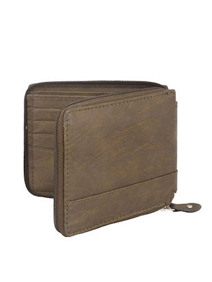 brown leather wallet - 13732057 - Standard Image - 2
