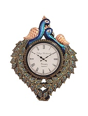 RoyalsCart Peacock Analog Wall Clock -  online shopping for Wall Clocks