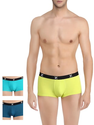 multi colored set of 3 trunk  brief -  online shopping for Briefs