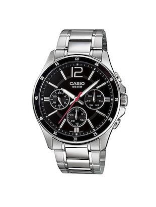 CASIO Black Dial  Chronograph Watch For Men - A832