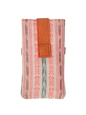 Multi coloured cotton printed pouch -  online shopping for Pouches