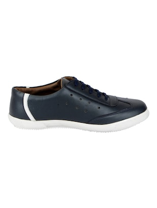 6b537e7cbba Buy Blue Leatherette Lace Up Sneaker for Men from Fausto for ₹699 at 0% off