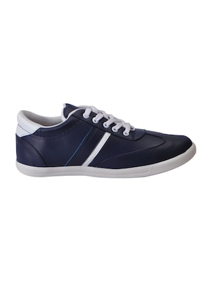 6b9a717ff01 Buy Navy Leatherette Lace Up Sneaker for Men from Fausto for ₹708 at 29%  off