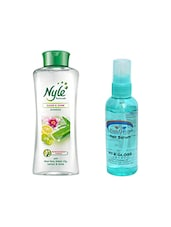 NYLE CLEAN & SHINE SHAMPOO 400ML WITH PINK ROOT HAIR SERUM 100ML - By