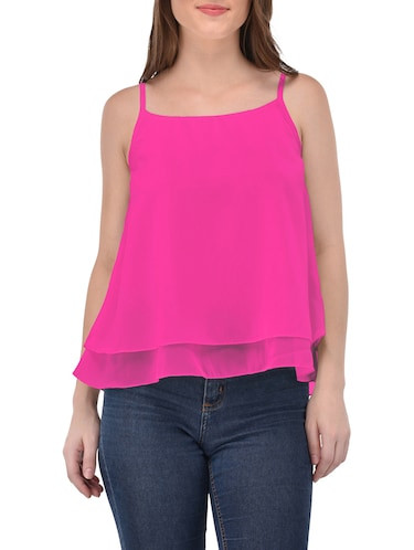 4044e97a9d3670 Buy Pink Peplum Top for Women from Popnetic for ₹479 at 52% off ...