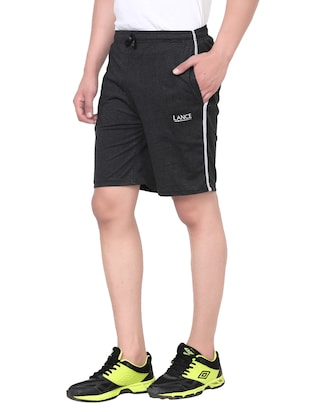 black cotton shorts - 13967823 - Standard Image - 2