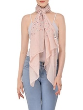 pink viscose scarf -  online shopping for Scarves