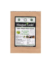 Shagun Gold 100% Natural Black Henna ( Chemical Free ) 100G X 2 - By