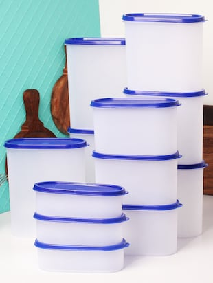 Tallboy Mahaware Space Saver Container 12 Pcs set -  online shopping for Containers