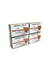 Milk Chandan Turmeric 100 Gms Each (Pack Of 4) - By