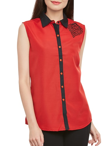 972502588f4f4 Shirts For Women - Upto 70% Off