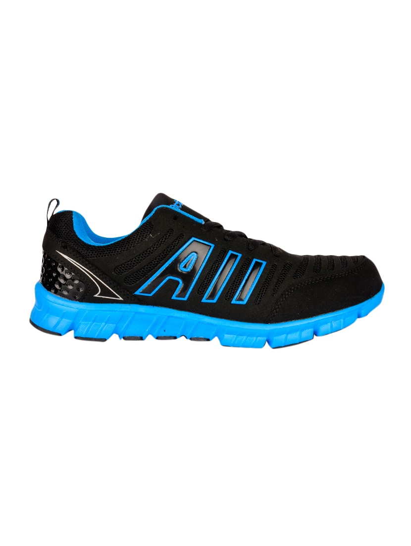 2081f51cb8c78e Buy Black Leatherette Lace Up Sport Shoe for Men from Action Shoes ...