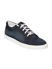 blue Denim lace up sneaker -  online shopping for Sneakers